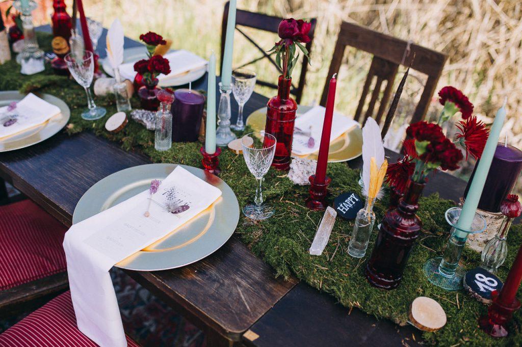 Dekoration Tische Hochzeit Bodensee