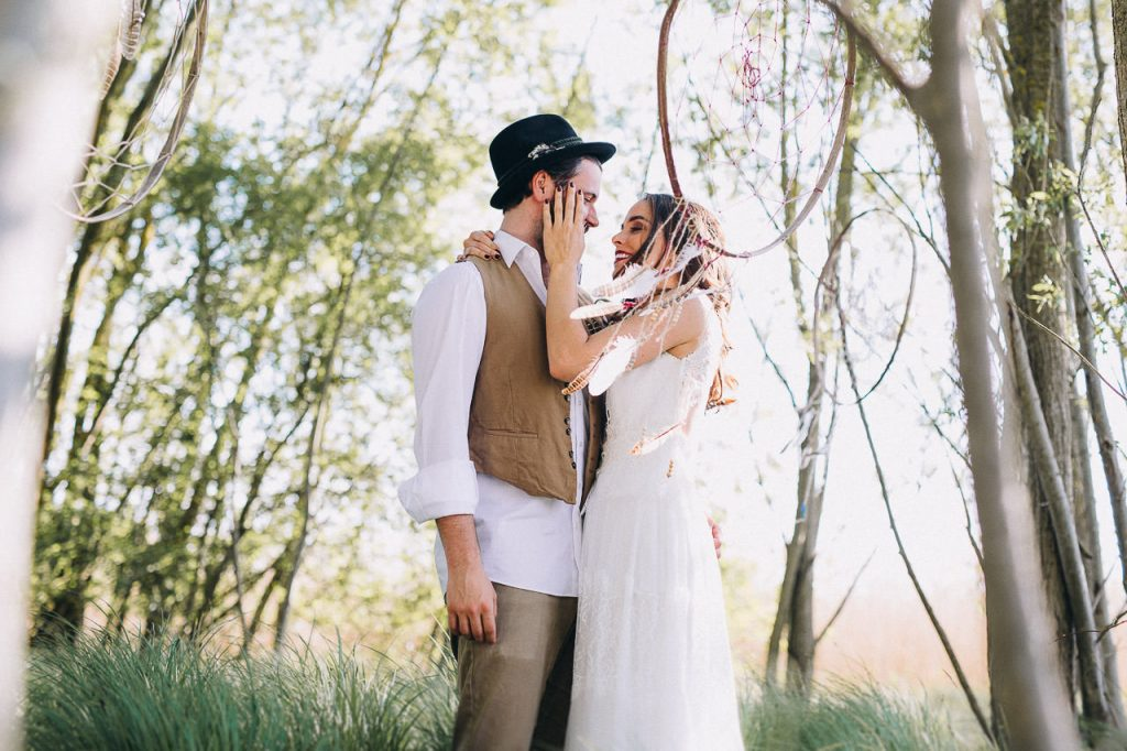 Free Love Boho Wedding