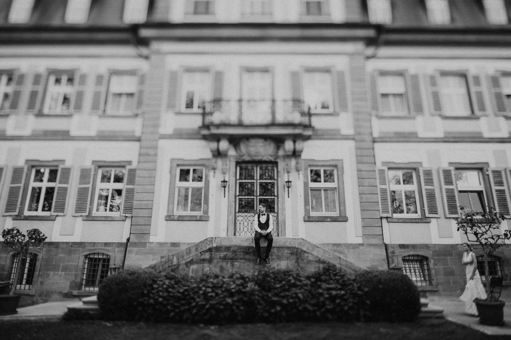 Fotoshooting Brautpaar Gut Ludwigsruhe Schwäbisch Hall