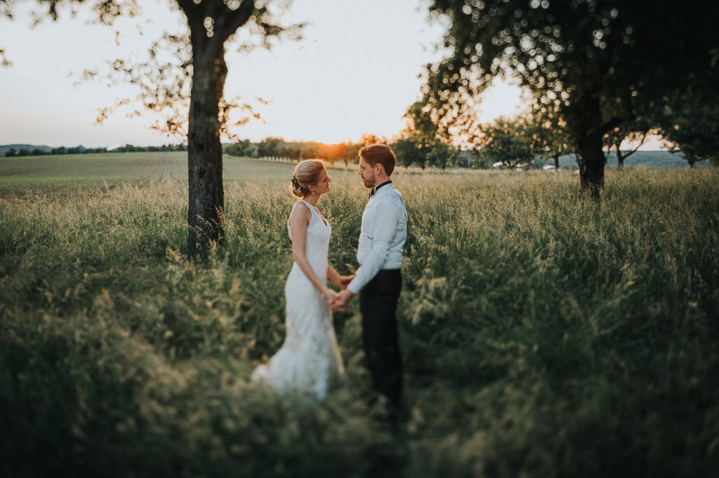 Sunset Shooting Hochzeit Gut Ludwigsruhe