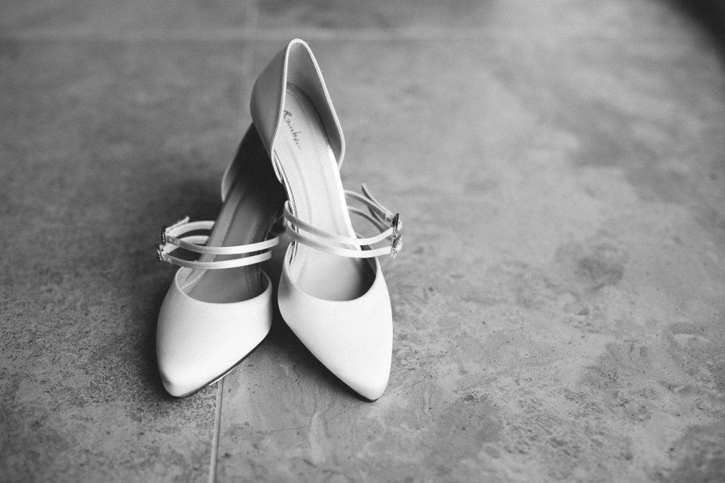 Hochzeit Magical Homes Schuhe Braut