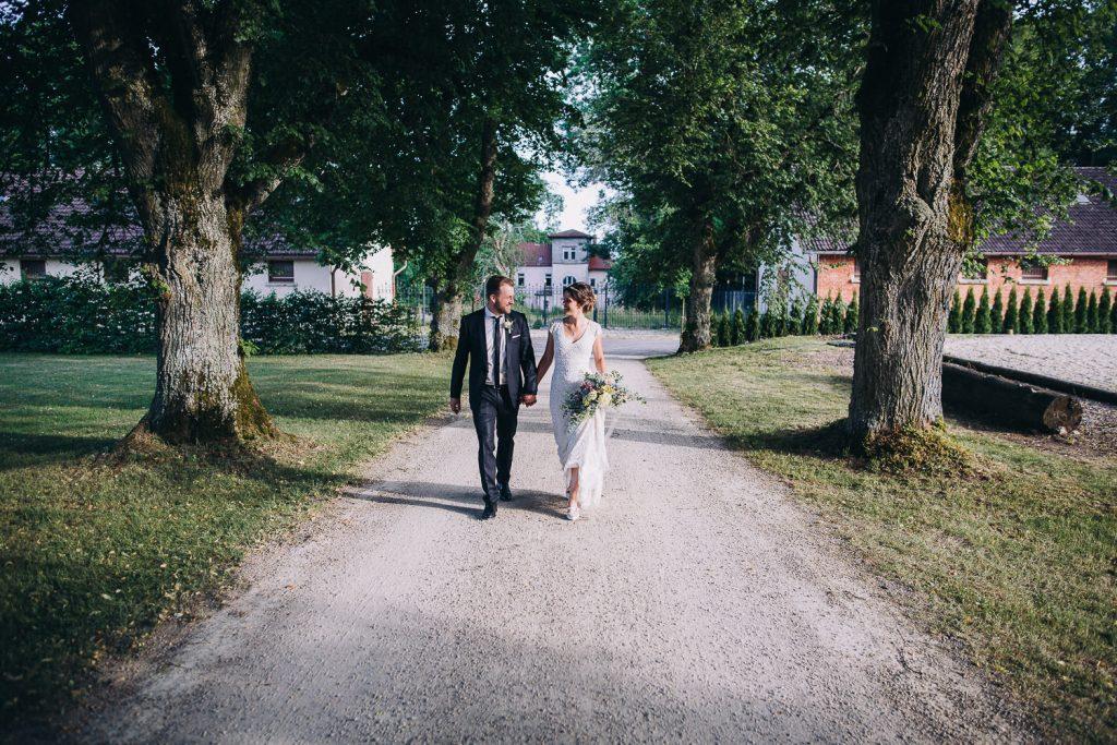 Brautpaar Fotos Allee