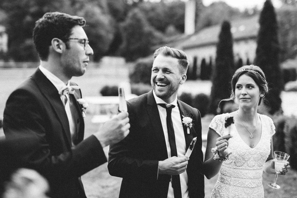 Hochzeit Magical Homes Instagram lachen