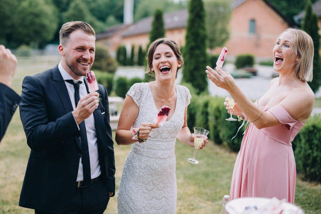 Freude Sektempfang Hochzeit Magical Homes