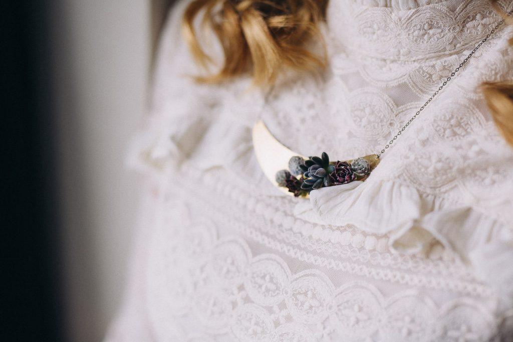 Besonderer Schmuck Hochzeit Halskette