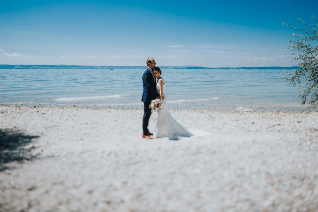 Hochzeitsfotograf Bodensee Fotoshooting am See