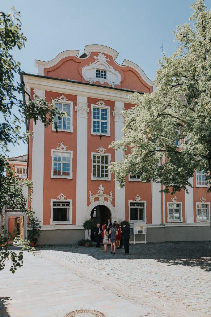 Hochzeit Bodensee Schloss Meersburg Trauung
