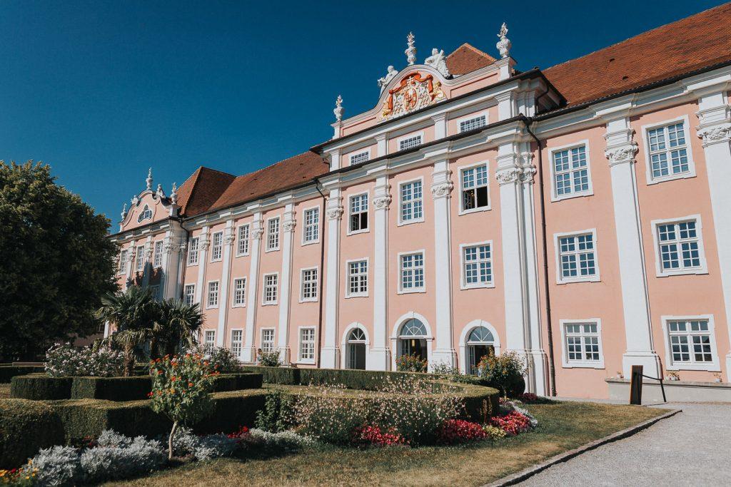 Hochzeit Bodensee Meersburg Schloss Außenansicht