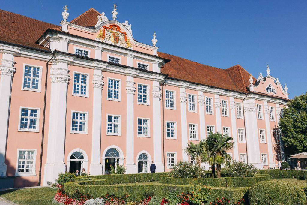 Hochzeit Bodensee Schloss Meersburg