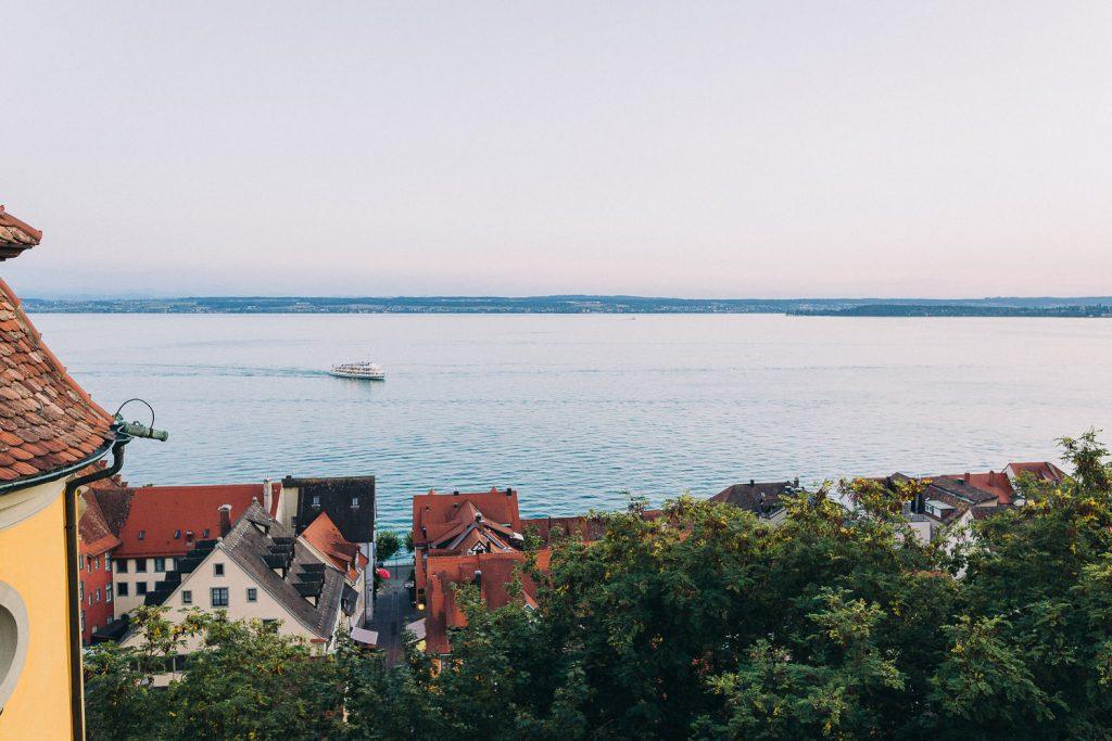 Hochzeit Bodensee Schloss Meersburg Ausblick