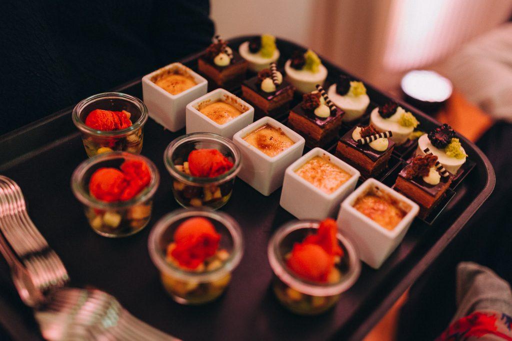 Hochzeit Bodensee Schloss Meersburg Dessert