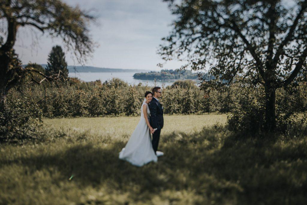 Hochzeitsfotograf Bodensee Konstanz Blick auf Mainau
