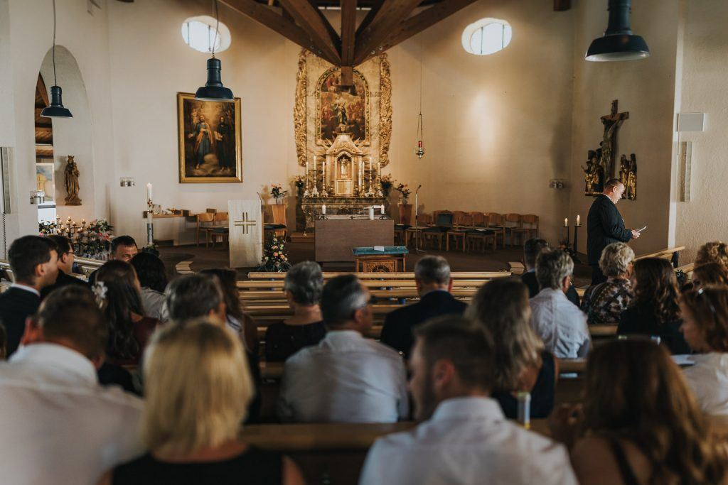 Hochzeitsfotograf Bodensee Konstanz Kirche Litzlstetten
