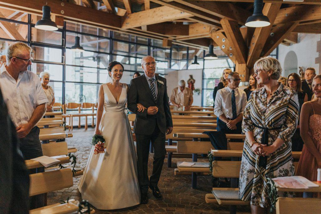 Hochzeitsfotograf Bodensee Konstanz Einzug Braut