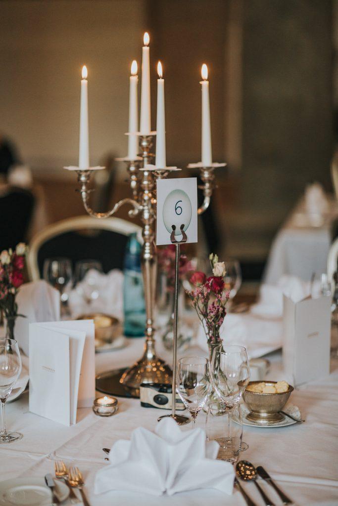 Tischdeko Hochzeit Hotel Steigenberger