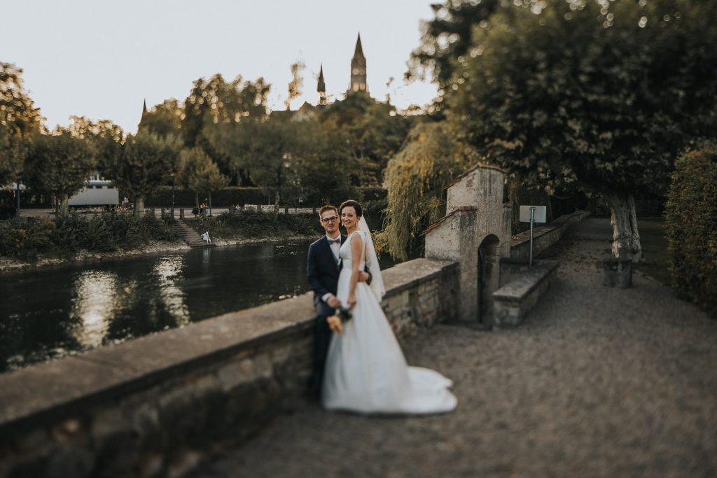 Hochzeitsfotograf Bodensee Konstanz Braut und Bräutigam