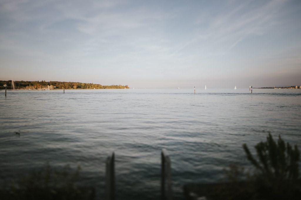Hochzeitsfotograf Bodensee Konstanz Blick auf See