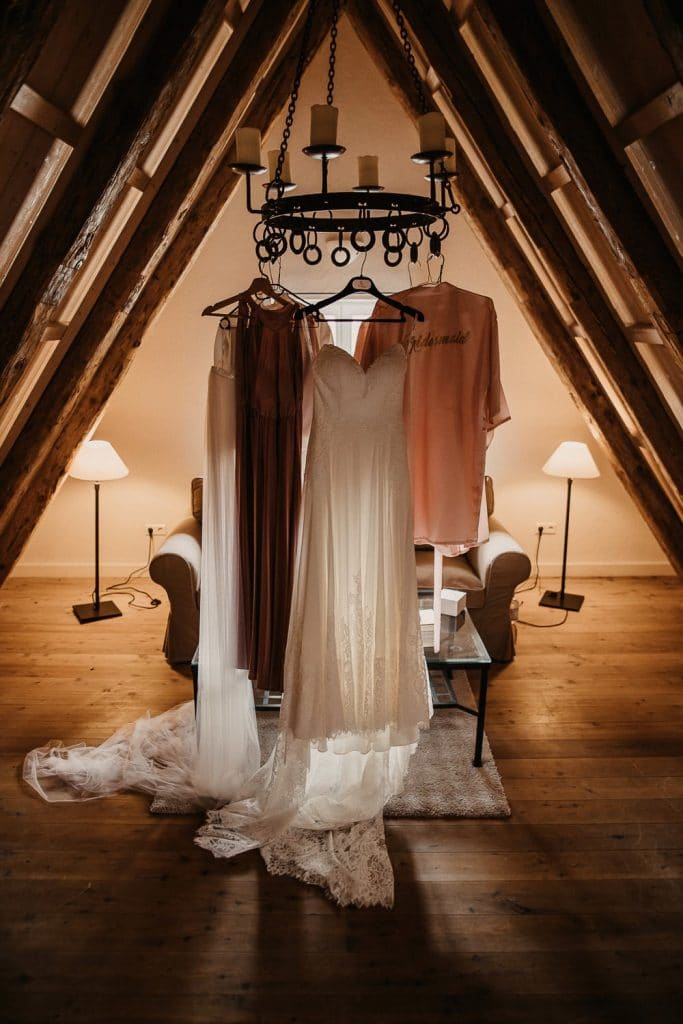 Hochzeit Maisenburg Getting Ready Braut