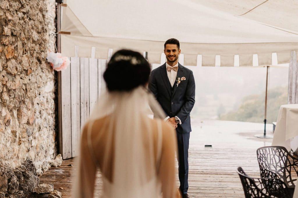 Hochzeitsfotograf Maisenburg First Look