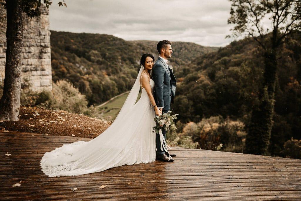 Hochzeit Maisenburg Brautpaar sensationell