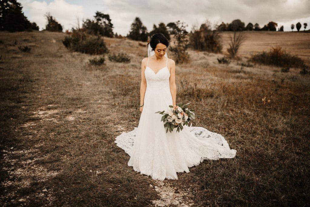 Hochzeitsfotograf Maisenburg Fotoshooting Braut