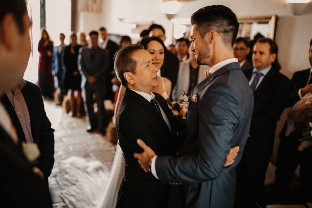 Hochzeit Maisenburg Freie Trauung Brautvater