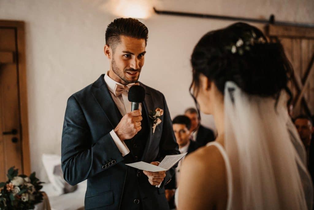 Hochzeit Maisenburg Freie Trauung Rede Bräutigam
