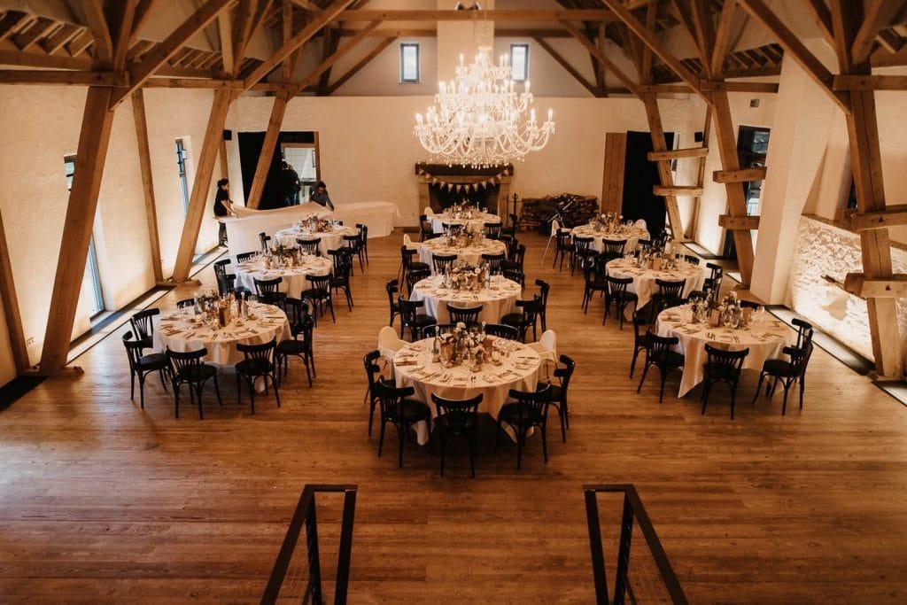 Hochzeit Hofgut Maisenburg Saal