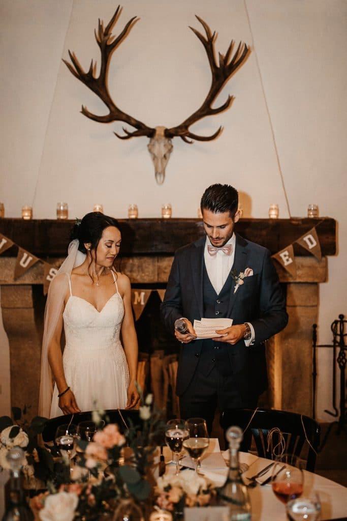 Hochzeit Maisenburg Rede Brautpaar
