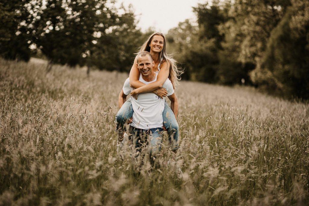 Verliebtes Paar am Bodensee
